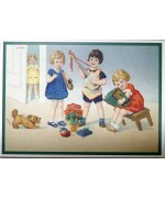 NEW - Assorted German Postcard Set - Musical Children
