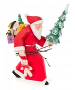 NEW - Bettina Franke - Santa Claus with Tree Figure