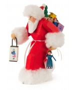 NEW - Bettina Franke - Santa Claus with Lantern Figure
