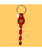3 Bell Santa Red Leather