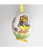 NEW - Christmas Easter Salzburg Hand Painted Easter Egg - Duck