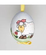 NEW - Christmas Easter Salzburg Hand Painted Easter Egg - Sheep