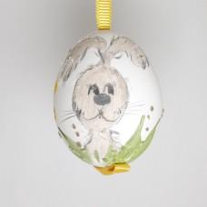 NEW - Christmas Easter Salzburg Hand Painted Easter Egg - Rabbit