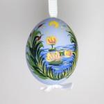 NEW - Christmas Easter Salzburg Hand Painted Easter Egg - Storks