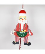 NEW - German Hampelmann Jumping Jack Wooden Toy - Workshop Santa - TEMPORARILY OUT OF STOCK