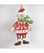 NEW - German Hampelmann Jumping Jack Wooden Toy - Winter Bear - TEMPORARILY OUT OF STOCK