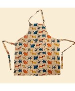 NEW - Nordic Dreams Apron - Dog Print