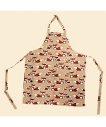 NEW - Nordic Dreams Apron - Fox Print