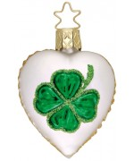 NEW - Inge-Glas Ornament Irish Luck