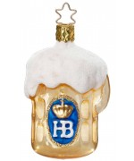 NEW - Inge-Glas Ornament Hofbrauhaus Beer Stein