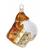 NEW - Inge-Glas Ornament Drunken Waldi