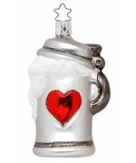 NEW - Inge-Glas Ornament Beer Lover