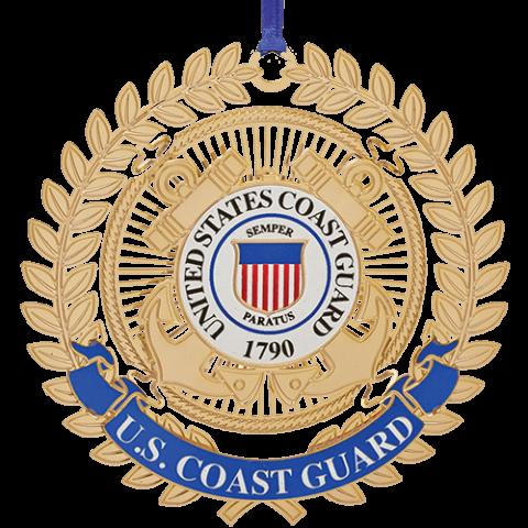 Beacon Design Coast Guard Ornament