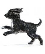 NEW - Terrier Puppy Wilhelm Schweizer Standing Pewter