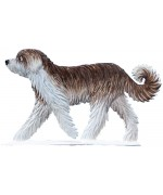 NEW - Shaggy Dog Wilhelm Schweizer Standing Pewter