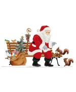 Santa in the Park 2019 Christmas Pewter Wilhelm Schweizer - TEMPORARILY OUT OF STOCK