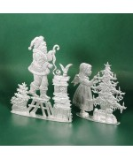 Special Set - Wilhelm Schweizer Unpainted Pewter - Ready for Christmas