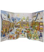 NEW - Old German Paper Advent Calendar
