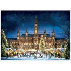 Old German Paper Advent Calendar - Vienna - TEMPORARILY OUT OF STOCK