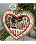 A Wooden Deer Heart - TEMPORARILY OUT OF STOCK