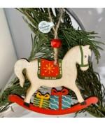 ** NEW ** Rocking Horse Ornament