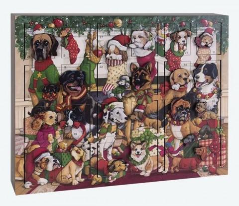 NEW - Byers Choice Advent Calendar Dog's Christmas