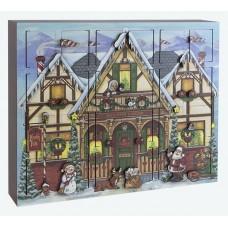 NEW - Byers Choice Advent Calendar North Pole
