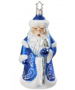 NEW - Inge Glas Father Frost Glass Ornament