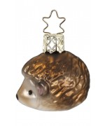 NEW - Inge Glas Mini Hedgehog Glass Ornament