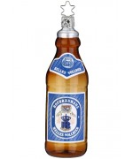 NEW - Inge Glas Hofbrauhaus Beer Bottle Glass Ornament