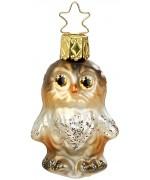 NEW - Inge Glas Mini Owl Glass Ornament