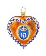 NEW - Inge Glas Hofbrauhaus Gingerbread Glass Ornament