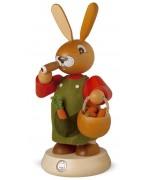 NEW - Mueller Smokerman Erzgebirge Male Easter Bunny