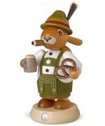 NEW - Mueller Smokerman Erzgebirge Bavarian Easter Bunny
