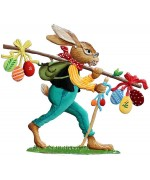 NEW - Wilhelm Schweizer Easter Oster Pewter 2020 Traveling Bunny