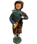 Byers' Choice Leprechaun with a guitar - Irish