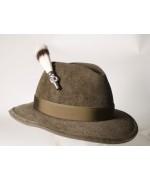 German Wild Badger Beard Brush  ' Hat Pin '