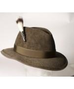 German Wild Badger Beard Brush Hat Pin