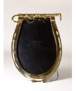 "TEMPORARILY OUT OF STOCK - Horseshoe with Whip Picture Frame <a name=""TopBookmark""></a>"