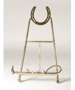 Horseshoe and Whip Display Stand