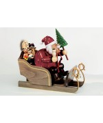 KWO Smokermen Christmas 'Father Christmas on His Sled'