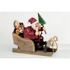 KWO Smokermen Christmas 'Father Christmas on His Sled'