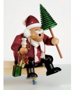 KWO Smokermen Christmas 'Father Christmas Sitting Tall'