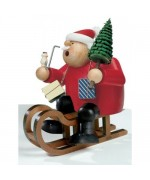 TEMPORARILY OUT OF STOCK - KWO Smokermen Christmas 'Santa on Sleigh'
