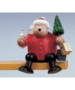KWO Smokermen Christmas 'Sitting Santa with Tree'