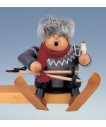 KWO Smokermen Christmas 'The Sitting Skier'