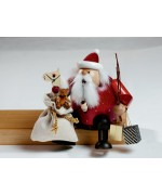 TEMPORARILY OUT OF STOCK KWO Smokermen Christmas 'Sitting Santa with Beard'