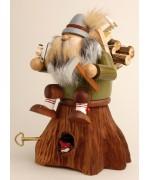 TEMPORARILY OUT OF STOCK  KWO Smokerman 'Lumberjack Music Box'