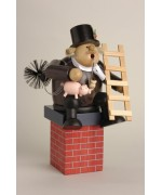 TEMPORARILY OUT OF STOCK - KWO Smokerman Chimney  Sweep Lucky Charm