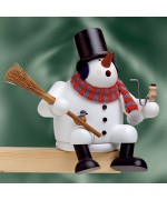 TEMPOARILY OUT OF STOCK - KWO Smokermen Christmas The Snowman
